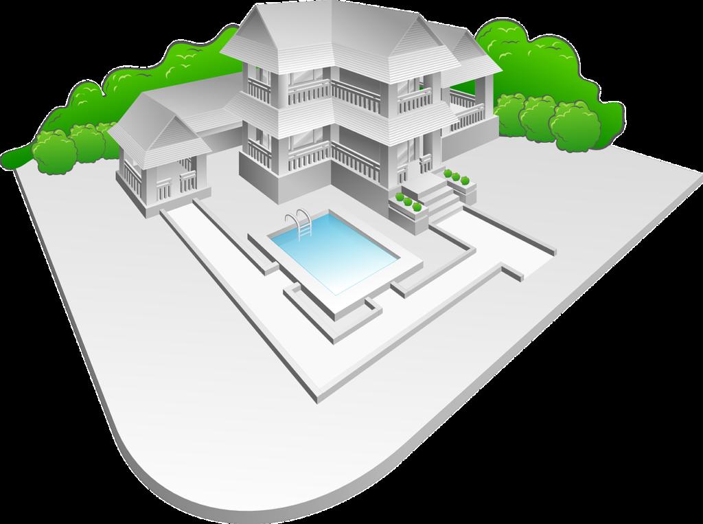 nacrt projekta vila s bazenom