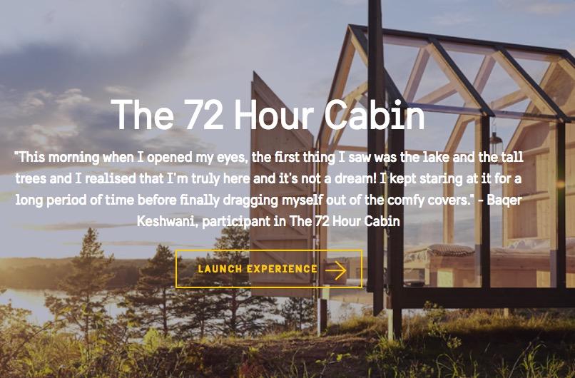 72 sata u brvnari