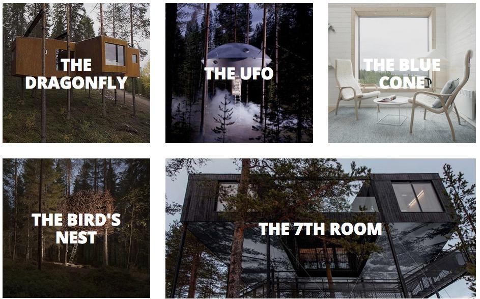 Tree hotel Švedska