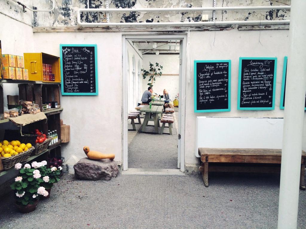 Café u Stockholmu