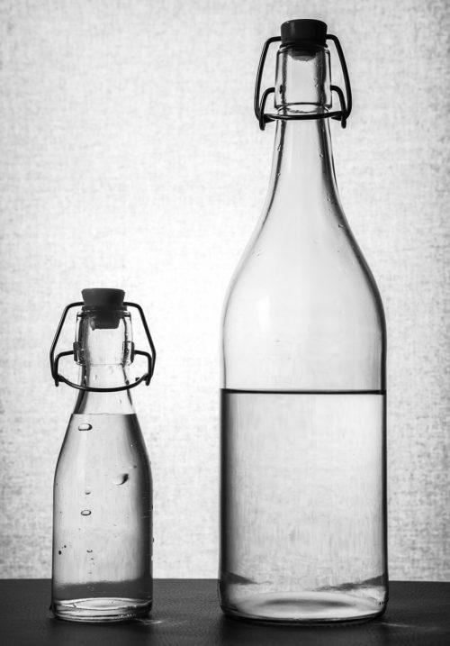 staklene boce vode
