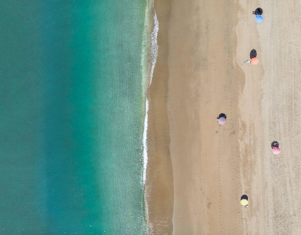 plaža u doba korone